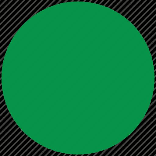 flag of libya, libya, libya's circled flag, libya's flag icon