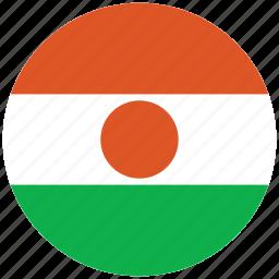 flag of neger, neger, neger's circled flag, neger's flag icon