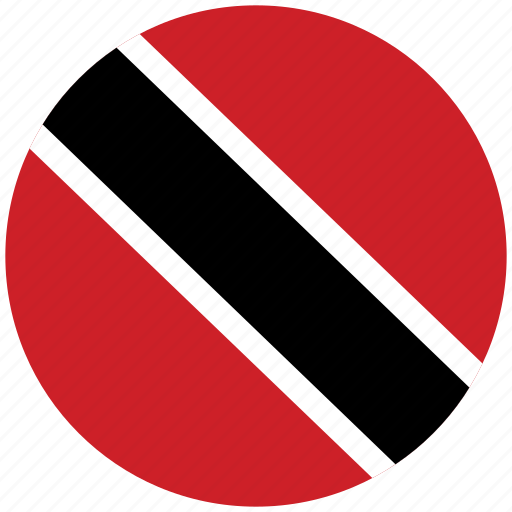 flag of trinidad, trinidad, trinidad's circled flag, trinidad's flag icon