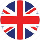 flag of uk, flag of united kingdom, uk, uk's flag, united kingdom, united kingdom's circled flag, united kingdom's flag icon