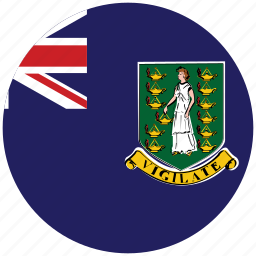flag of virgin islands, virgin islands, virgin islands's circled flag, virgin islands's flag icon