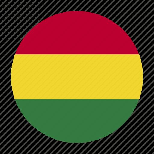 americacountry, bol, bolivia, bolivian, flag, south, sucre icon