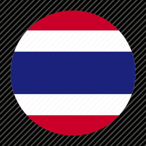 asia, asian, country, flag, tha, thai, thailand icon