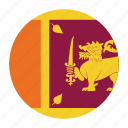 country, flag, lanka, lankan, sri, sri lanka, srilanka icon