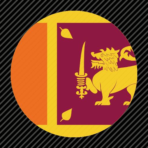 country, flag, lanka, lankan, sri, sri lanka, srilanka icon