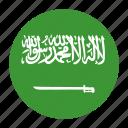 arabia, arabin, flag, saudi, saudia icon