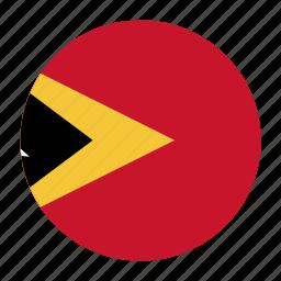 eastcountry, flag, leste, timor, tls icon