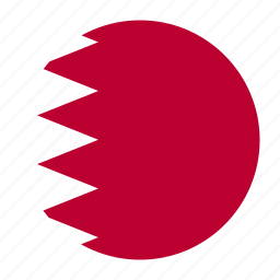 asia, asiancountry, bahrain, bahrini, bhr, flag icon