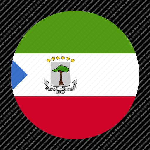 africa, country, equatorial, flag, gnq, guinea icon