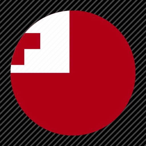 country, flag, oceania, paanga, ton, tonga, tongan icon