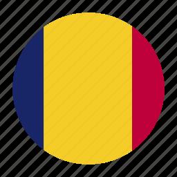 europe, european, flag, romania, romanian, roucountry icon