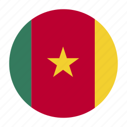 africa, cameroon, central, cmrcountry, flag icon