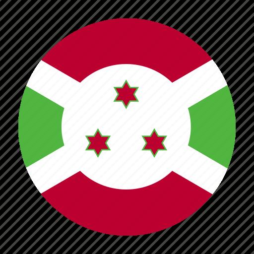 africa, africancountry, burundi, burundian, flag icon