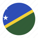 country, flag, honiara, islands, oceania, slb, solomon icon