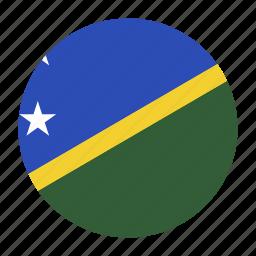 country, flag, honiara, islands, oceania, slb, solomon icon