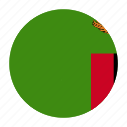 africacountry, african, flag, zambia, zambian, zmb icon