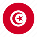 africa, flag, tun, tunis, tunisia, tunisiancountry icon