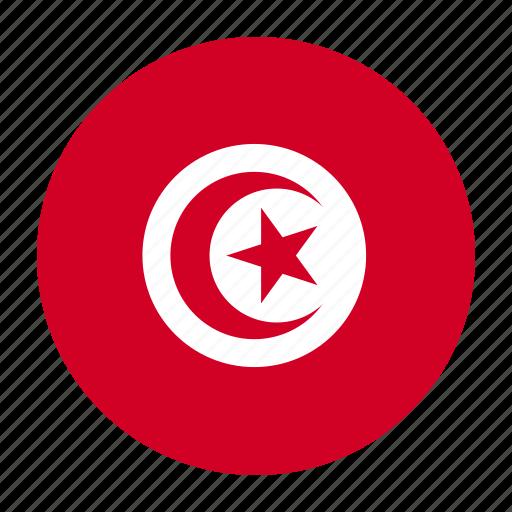 africa, flag, tun, tunis, tunisia, tunisiancountry icon