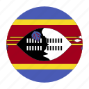 africa, african, flag, swazi, swaziland, swzcountry icon