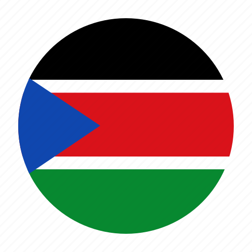 africa, country, flag, south, ssd, sudan, sudanese icon