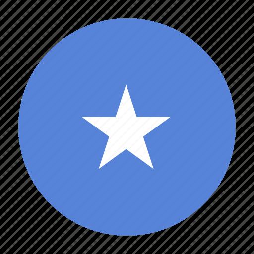 africa, africancountry, flag, shilling, som, somali, somalia icon