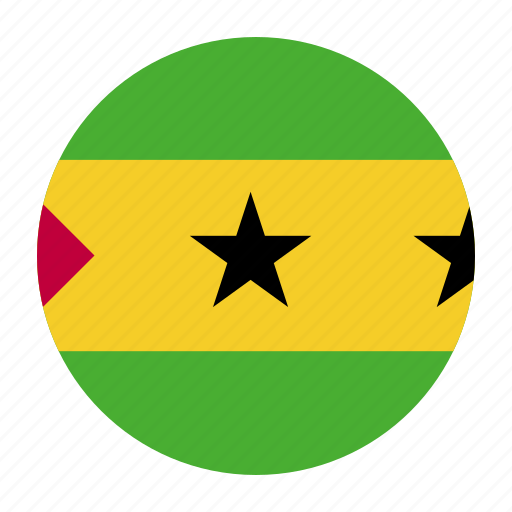 africa, country, flag, principe, sao, stp, tome icon