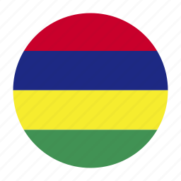 africa, african, east, flag, mauritius, muscountry, west icon
