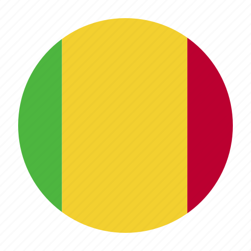 africa, country, flag, mali, mli, west icon