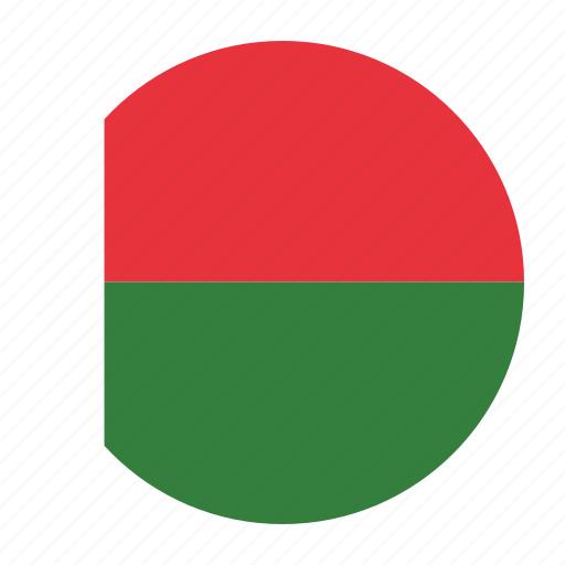 africa, african, flag, madagascar, malagasy, mdgcountry icon