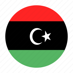 country, flag, lby, libya, libyan, north icon