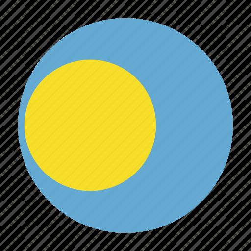 country, flag, ngerulmud, oceania, palau, plw icon