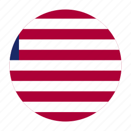 africa, country, flag, lbr, liberia, liberian, west icon