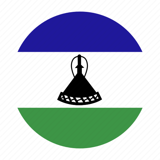 africa, country, flag, lesotho, lso, southern icon