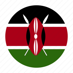 africa, african, country, flag, ken, kenya, kenyan icon