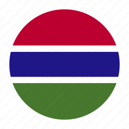 african, country, dalasi, flag, gambia, gambian, gmb icon
