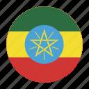 africa, birr, country, eth, ethiopia, ethiopian, flag icon
