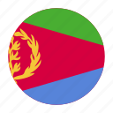 africa, african, country, eri, eritrea, eritrean, flag icon