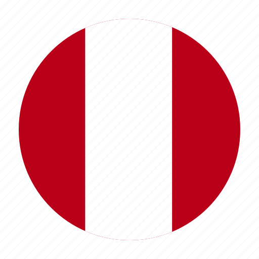 country, flag, per, peru, peruvian, south icon