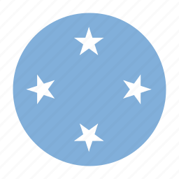 country, flag, fsm, micronesia, oceania, state icon