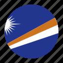 country, flag, marshall, mhl, oceania