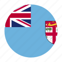 country, fiji, fijian, fji, flag, oceania icon