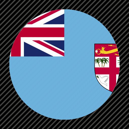 country, fiji, fijian, fji, flag, oceania icon