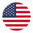 america, american, flag, us, usa icon