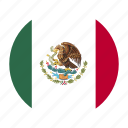 america, country, flag, mex, mexican, mexico, north icon