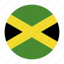caribbean, country, flag, jam, jamaica, jamaican icon