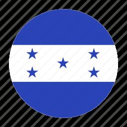america, central, country, flag, hnd, honduran, honduras icon
