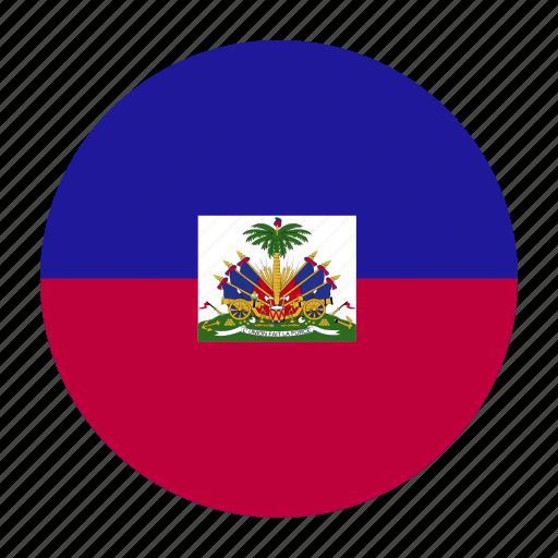 caribbean, country, flag, hai, haiti, haitian, hti icon