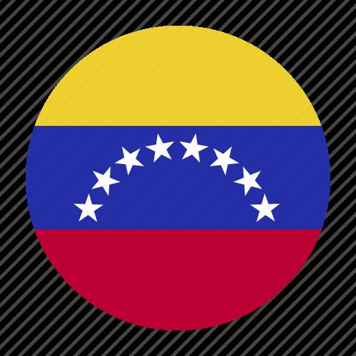 america, flag, south, ven, venezuela icon