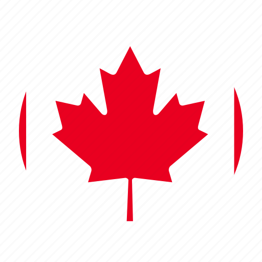 america, can, canada, canadian, country, flag, north icon