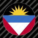 and, antigua, atg, barbuda, country, flag